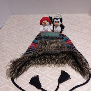 Souris Mini designer trapper hat